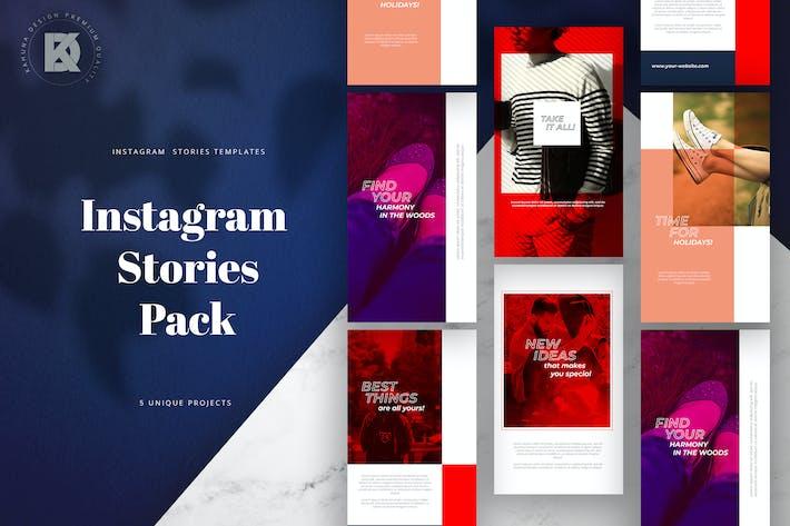 Thumbnail for Pack Histoires Instagram