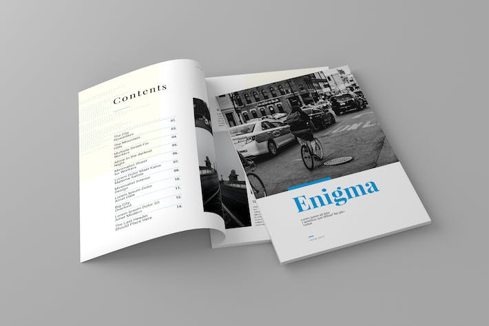 Thumbnail for Magazine Template Vol. 16
