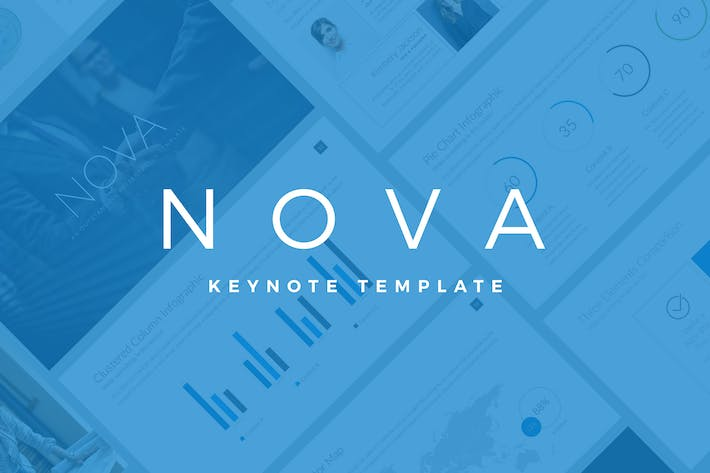 Thumbnail for Nova Business Keynote Template Pitch Deck