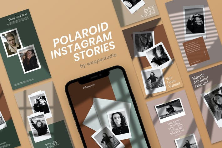 Thumbnail for Polaroid Instagram Stories