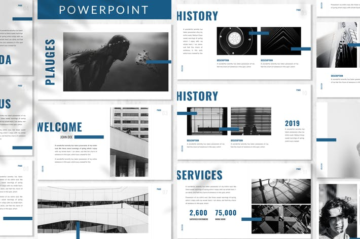 Thumbnail for Plagues - Multipurpose Powerpoint Template