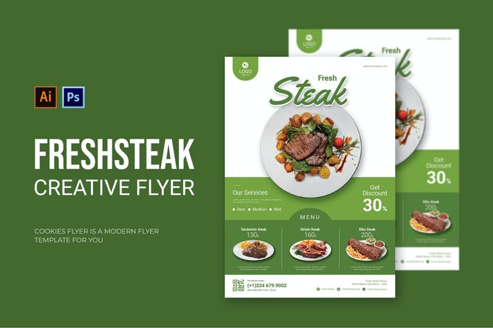 Fresh Steak - Flyer
