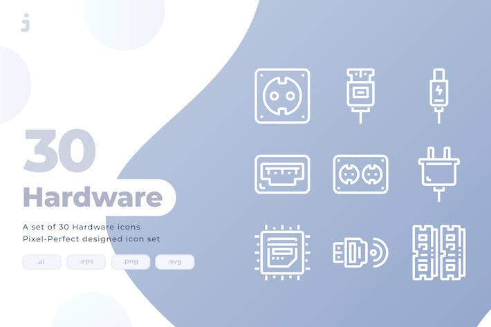 Thumbnail for 30 Hardware Icons