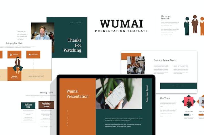 Thumbnail for Wumai : Annual Report Keynote