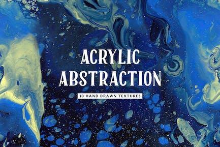 Nahtlose Acryl Abstraktion Texturen