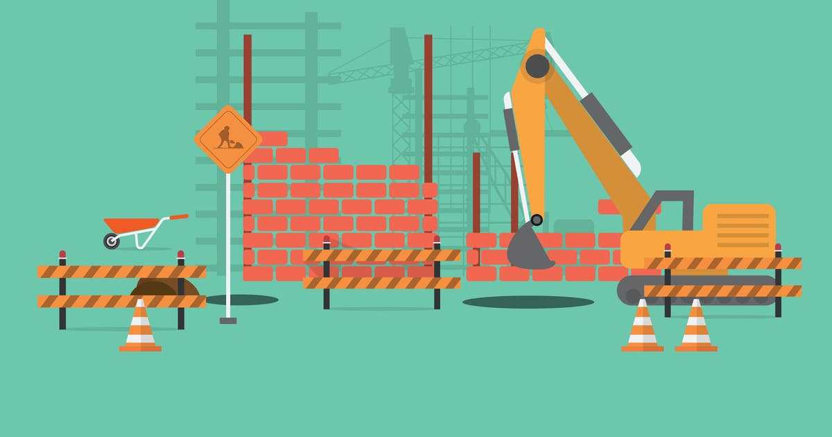 Download Construction - Illustration Background by Graphiqa