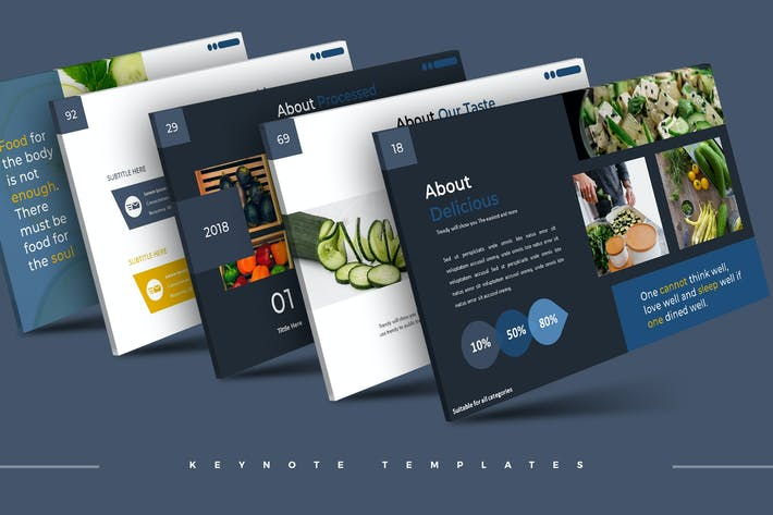 Thumbnail for Cucumber - Keynote Template
