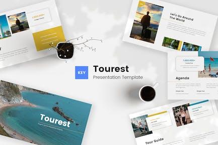 Tourest - Шаблон Keynote о путешествиях и туризме