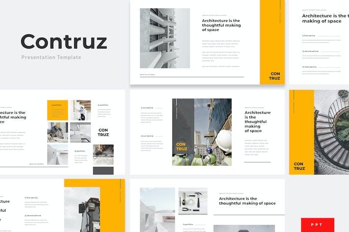 Thumbnail for Contruz - Construction Powerpoint Template