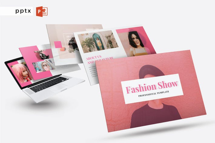 Thumbnail for FASHION SHOW - Powerpoint  V245