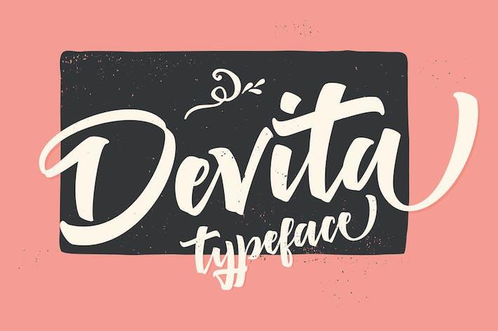 Thumbnail for Devita Font Script