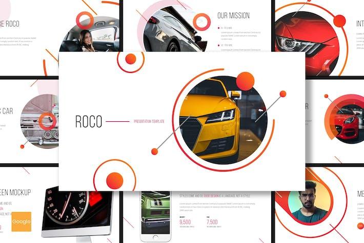 Thumbnail for Roco - Automotive Google Slides Template