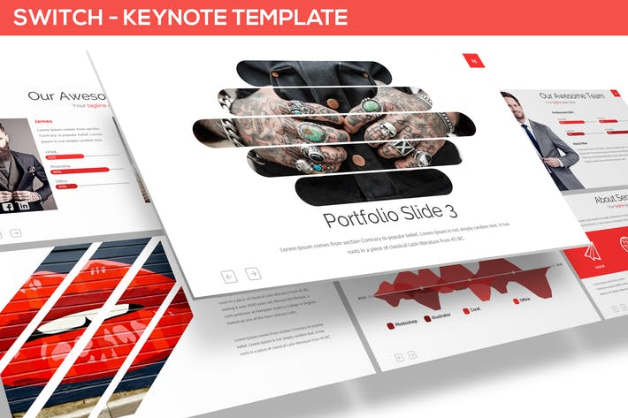 Thumbnail for SWITCH - KEYNOTE TEMPLATE