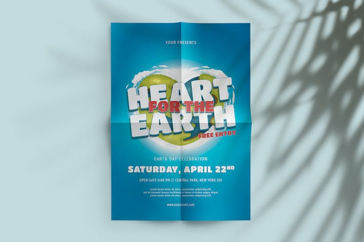 Thumbnail for Heart For The Earth Flyer
