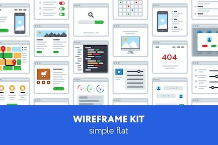 UX Wireframe kit