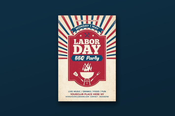 Labor Day BBQ Party