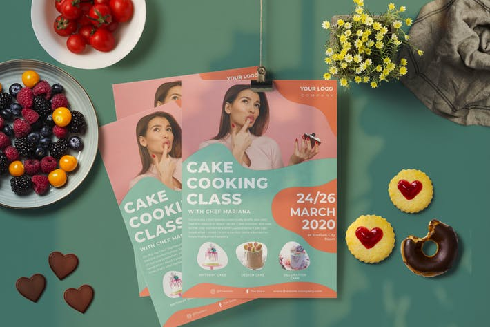 Thumbnail for Cake Class Flyer