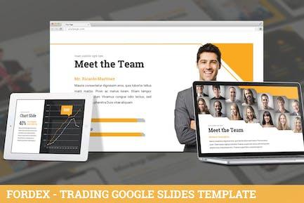 Fordex - Trading Google Slides Template