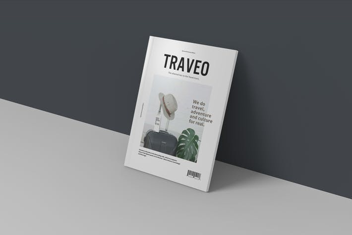 Thumbnail for Clean Magazine Mockup V3