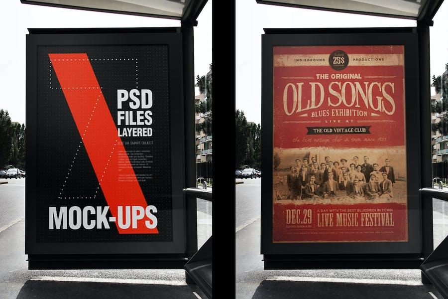 Urban Flyer Poster Mockup