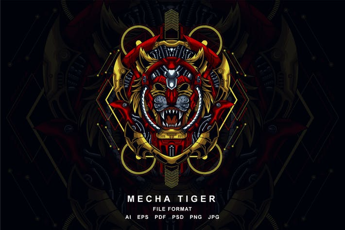 Thumbnail for Mecha Tiger