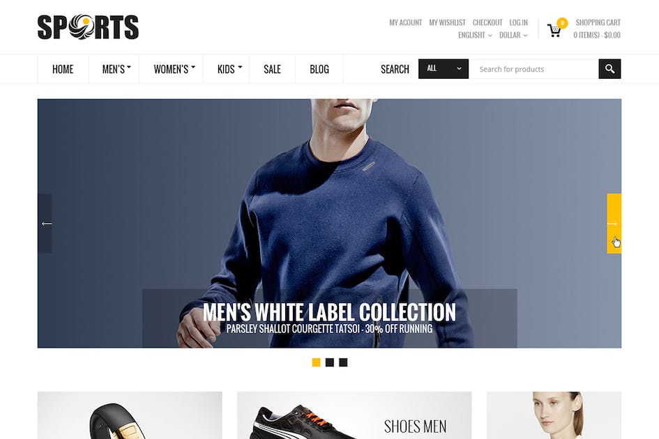 Download Sport - Multipurpose Magento theme by 7uptheme
