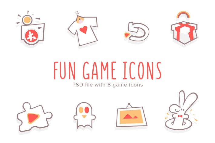 Thumbnail for Fun Game Icons