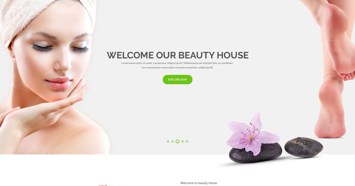 Download Beautyhouse - Health & Beauty HTML Template by codecarnival