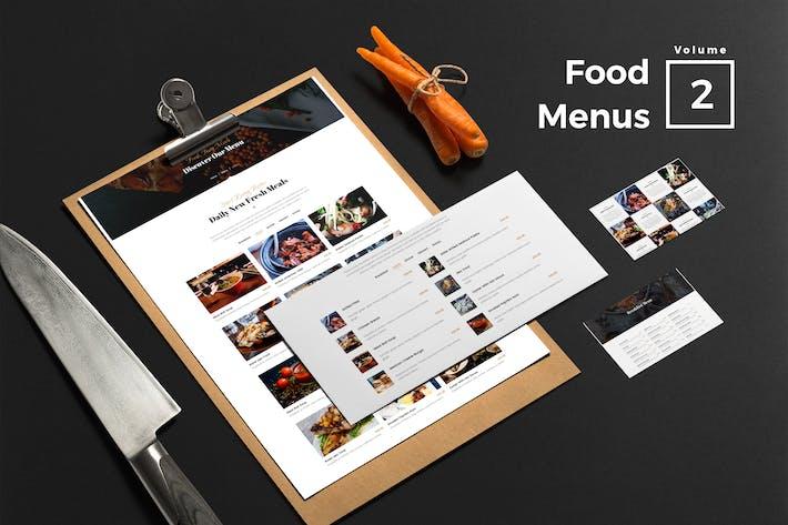 Thumbnail for Food Menus for Web Vol 02