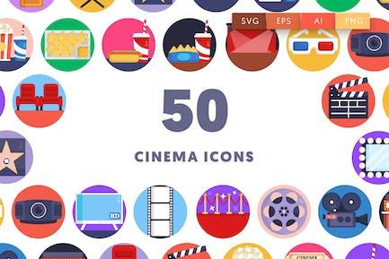 50 Kino-Icons