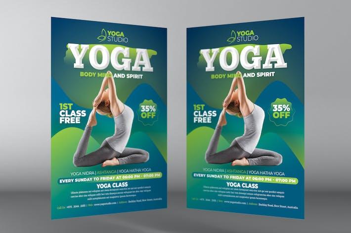 Thumbnail for Yoga Flyer Templates