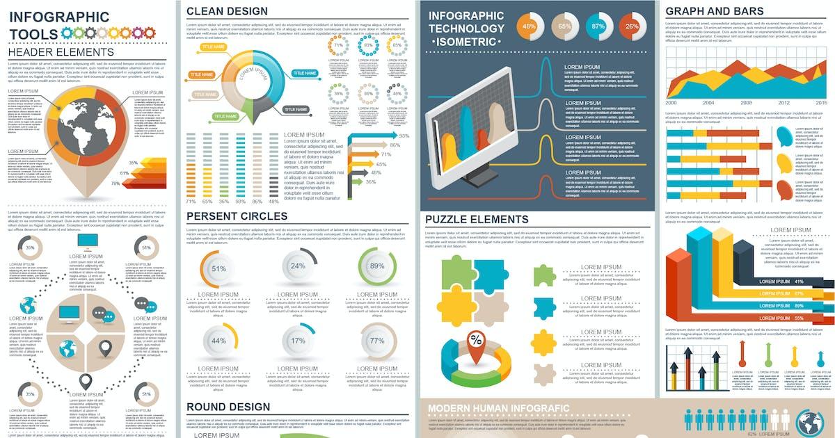 Presentation Infographic Elements Template by alexdndz