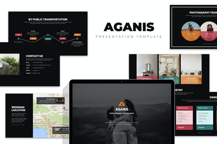 Thumbnail for Aganis : Wedding Planner & Organizer Google Slides