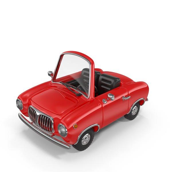 Cartoon Car Cabriolet