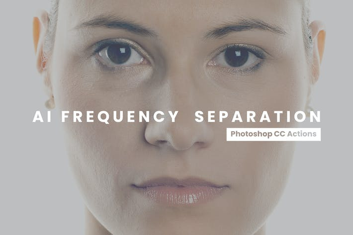 Thumbnail for Frequency Separation Photoshop Actions