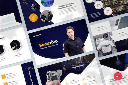Safety & Security Company Powerpoint Template