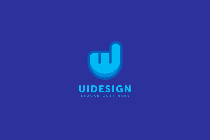 Thumbnail for Ui Design Logo Template