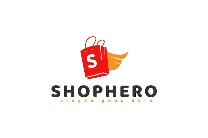 Thumbnail for Shop Hero Logo Template