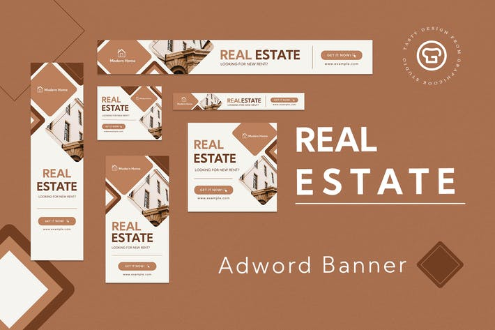 Thumbnail for Real Estate Banner Ad