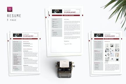Graphic Reference Resume Designer