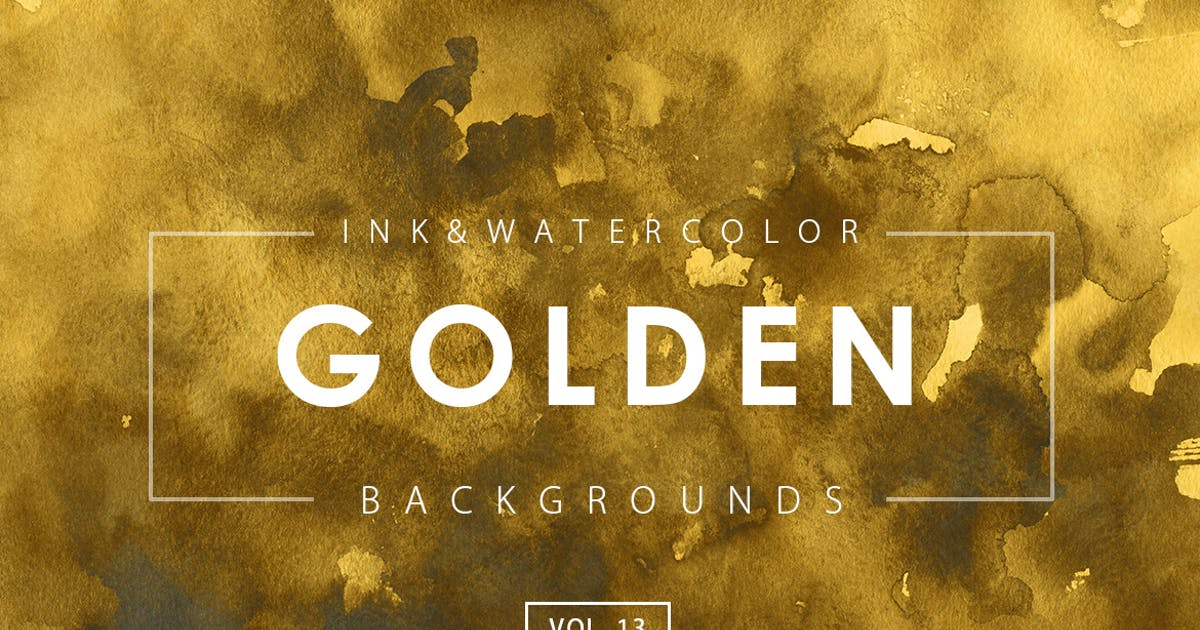 Download Golden Ink Backgrounds 13 by M-e-f