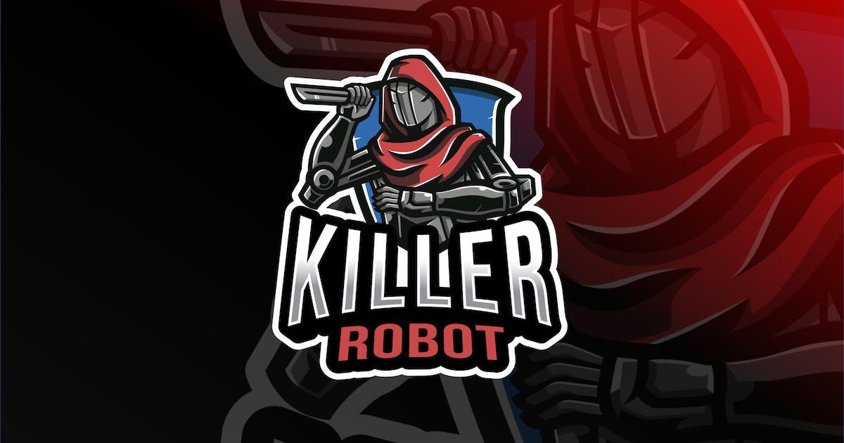 Download Killer Robot Esport Logo Template by IanMikraz