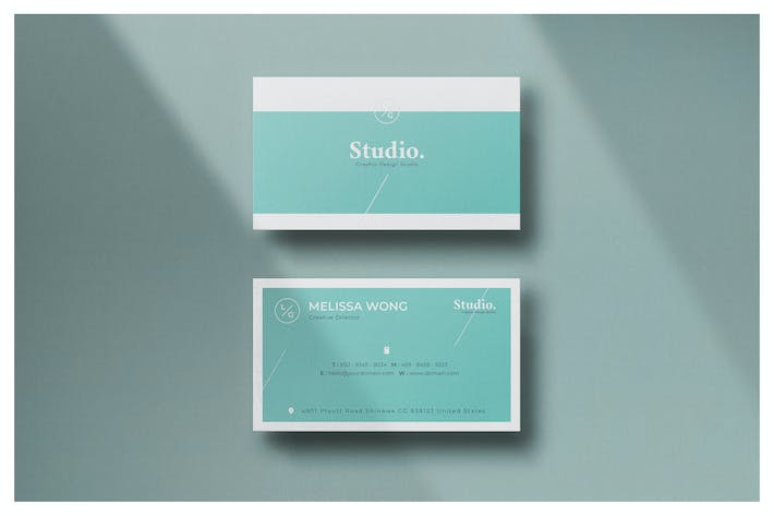Cover Image For Minimal Business Card - Vol.24