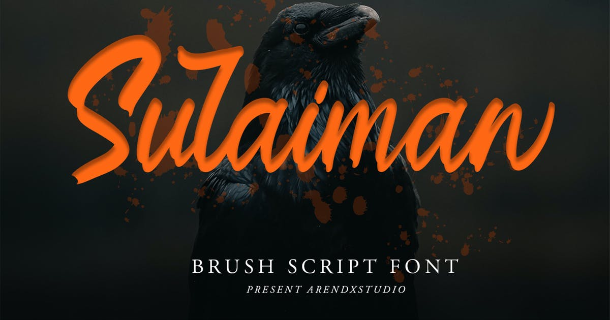 Download Sulaiman Font by arendxstudio