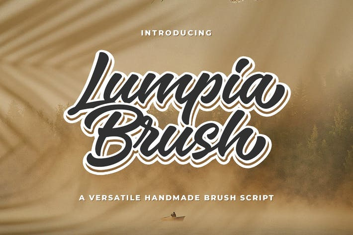 Thumbnail for Lumpia Brush Script