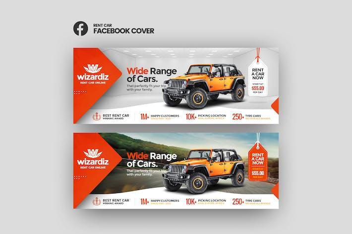Thumbnail for Wizardiz - Rent Car Facebook Cover Template