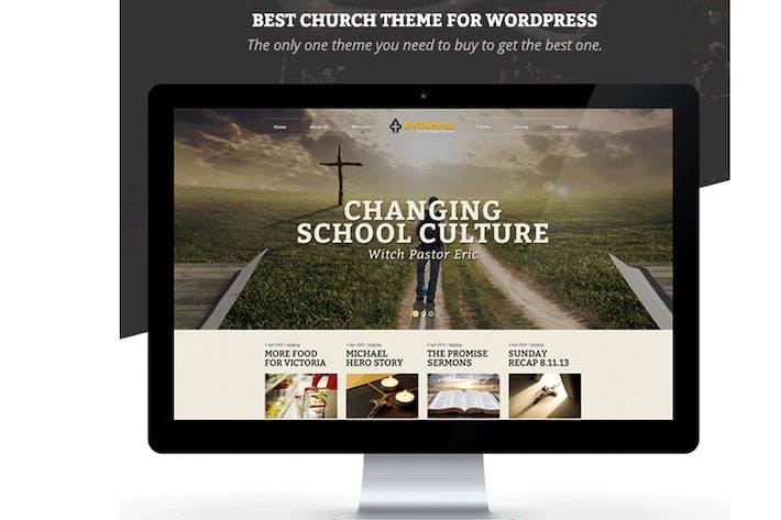 Thumbnail for Bethlehem - Church Bootstrap 3 HTML5 Template