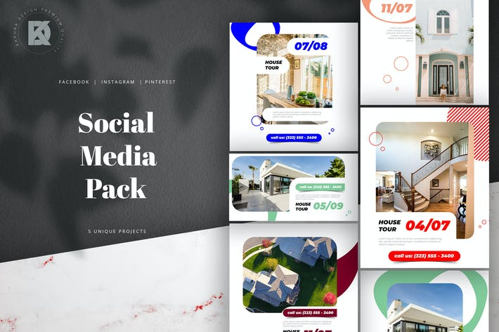 Thumbnail for Real Estate Social Media Pack