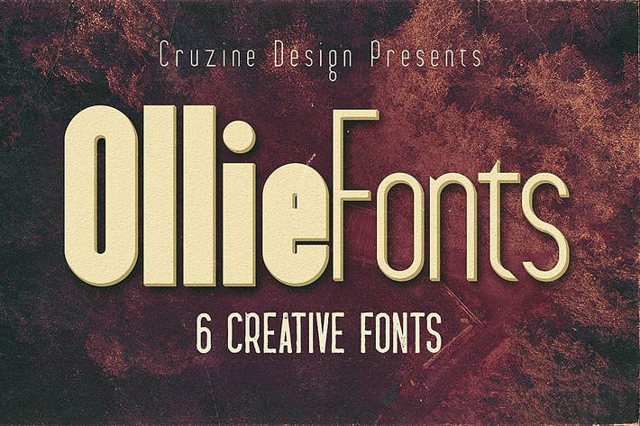 Thumbnail for Ollie Typeface