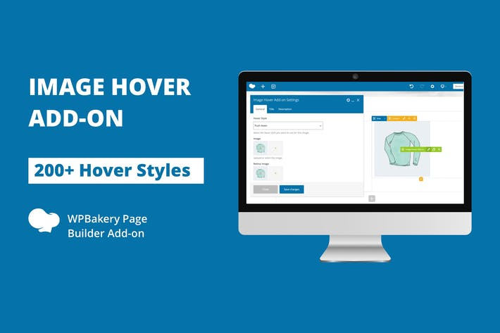 Thumbnail for Image Hover Add-on for WPBakery Page Builder